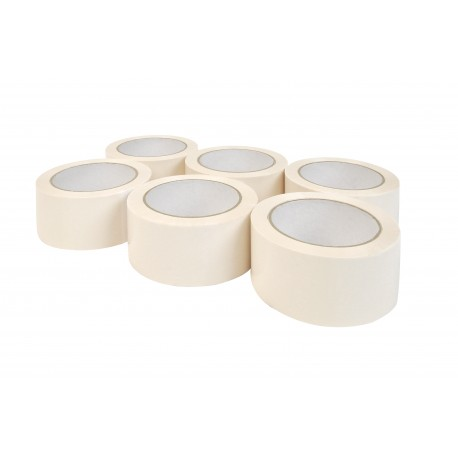 6 ADHESIFS BLANC PVC