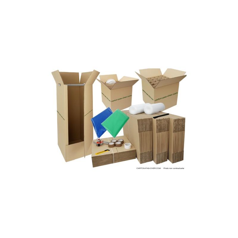 kit d m nagement complet qualit prix carton pas. Black Bedroom Furniture Sets. Home Design Ideas
