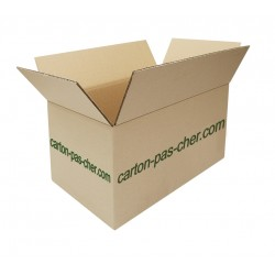 CARTON DOUBLE CANNELURE 55 x 35 x 30 cm