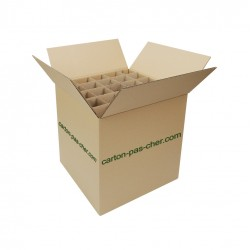 20 CARTONS DEMENAGEMENT CROISILLON 75 VERRES